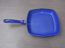 Die casting aluminum &non-stick square grill pan