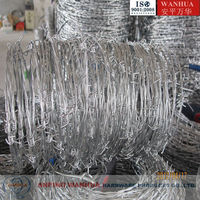 Alibaba Barbed Wire Length per Roll ( ISO 9001 Factory )