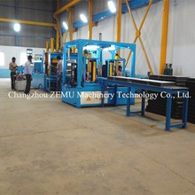Fin Folding Line for Transformer Tanks with Corrugated Fin