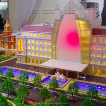 3D Miniature Architectural models of Shanghai Wedding Centre by China supplier