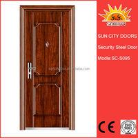 Steel inner door design of apartment
