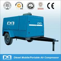 Diesel Portable Rotary Screw Air Compressor