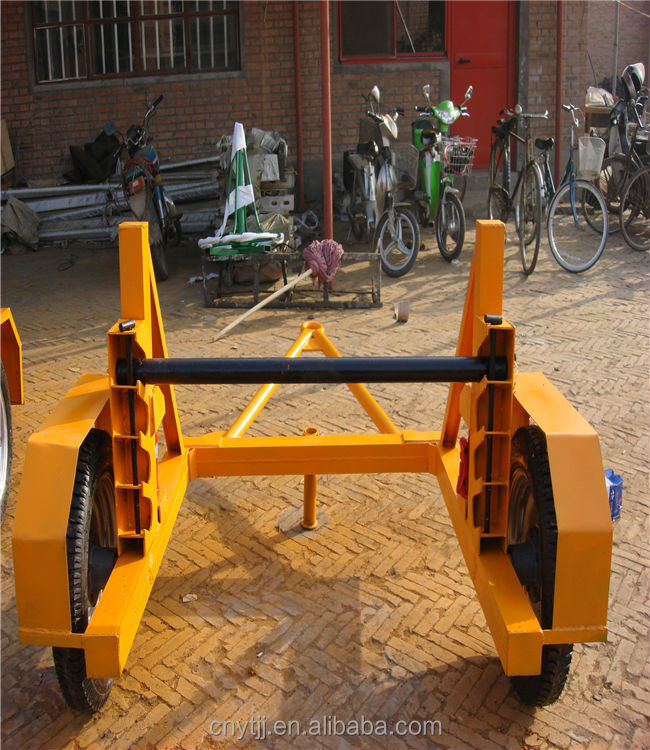 Cable Drum Trailer Mechanical Hand Operated Loading Winch