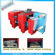 automatic label printing and cutting machine, roll to roll digital label printing machine,rotary label printing machine