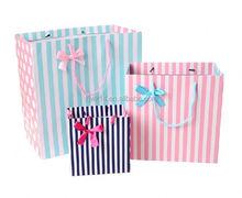 paper bags flame retardant/ carry artpaper bag/ pop-up paper bag