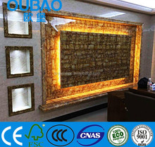 2015 new product faux stone plastic composite interior decoration ceiling tiles wall panel