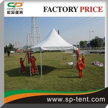 Hexagon pagoda wedding party garden marquee 6x12m with while sidewalls