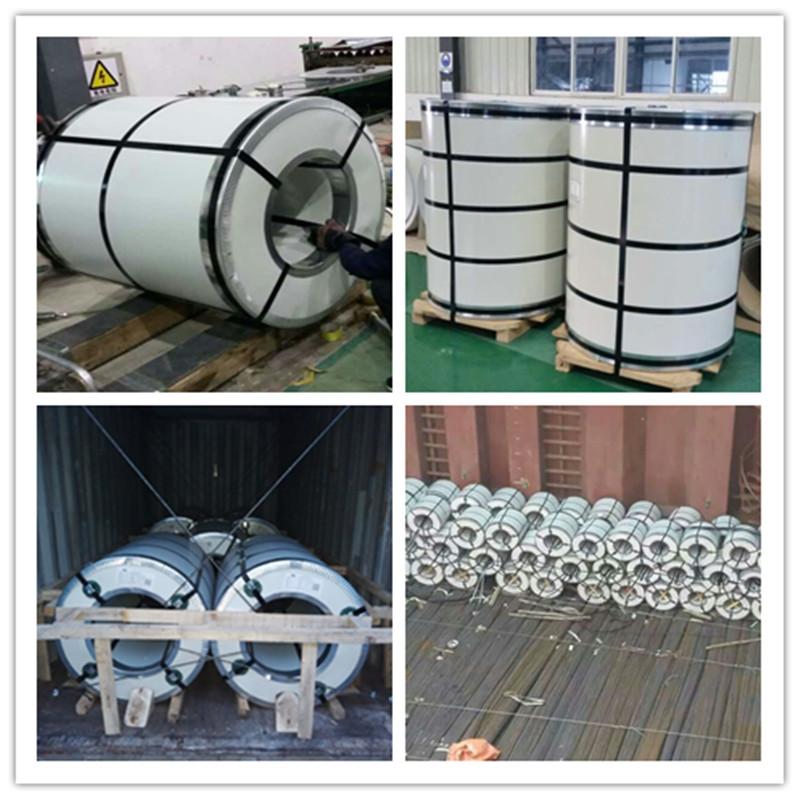 Prepainted galvalume steel