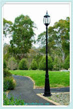 Europe style different size decorative antique yard lamp post light pole