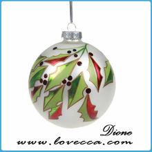 latest christmas ball wholesale clear glass christmas ball ornaments delicate printable glass christmas balls