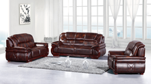 Modern Popular brown genuine leather chesterfield sofa for sale / Chesterfield Furniture Italian Furniture leather Sofa
