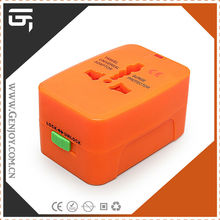 2014 shanghai Genjoy new promotional travel gifts power universal charger converter