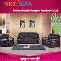 De estilo europeo moderno sofá reclinable de cuero, hecho de muebles de jardín sofá de costco a615 muebles