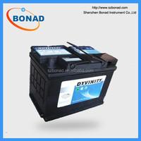 DYVINITY car battery charger MF 12V72AH car battery for sale