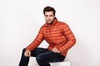 Men Fall/Winter Duck Down Jacket Ultra Light Thermal Fashion Travel Pocketable Portable Thin Sports Duck Coats Outerwear