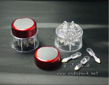 round empty eye shadow container empty eye shadow packaging
