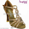 Suphini latin dance/party/wedding/evening shoes 2015 ,diamond heel fashion shoes for woman