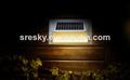 de alta potencia de la decoración de la pared led solar fabricante de las luces