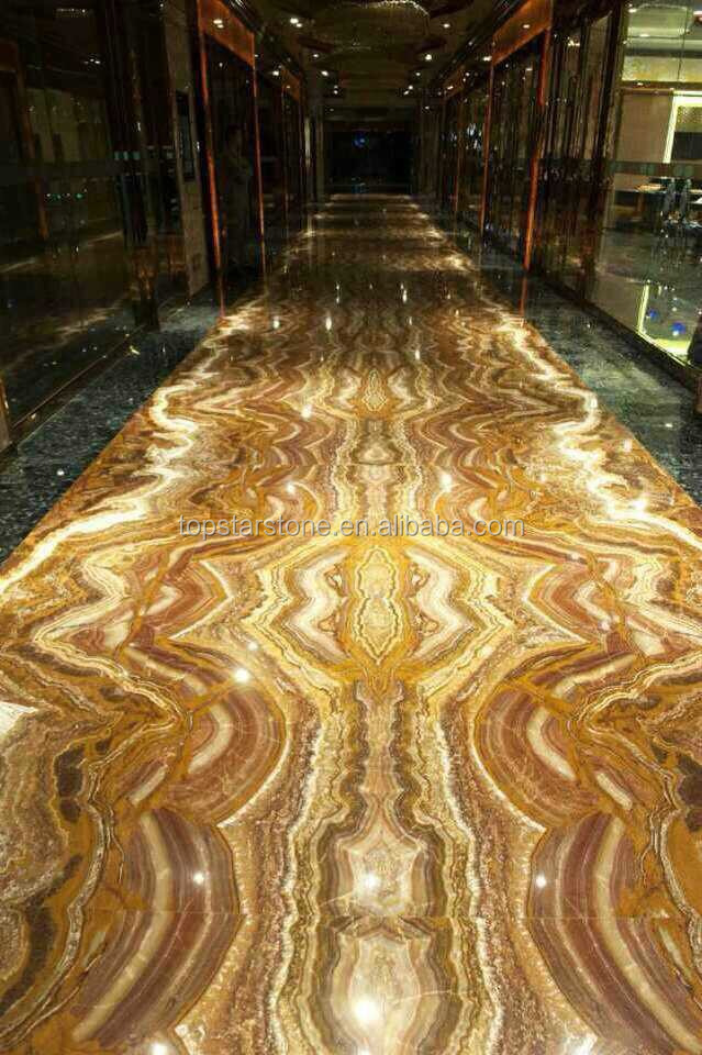 Translucent Red Onyx Floor Tilebookmatched Buy Translucent Red