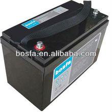 Batería SOLAR12-100 de ciclo profundo para sistema solar, batería recargable de energía solar de 12 V 100 ah, batería solar de 100 ah y 12 V