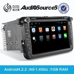 D90-810 Android 4.2.2 system car multimedia with gps navigation for for VW golf V/Jetta car multimedia and navigation system
