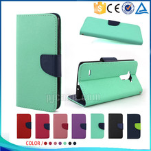 Mobile phone accessory pu magnetic leather flip cover for ipod touch 6 case
