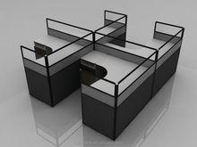 office desk/white high gloss office desk