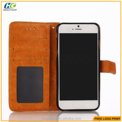 Wallet Leather cases For iPhone 6S, Wallet Cases with Card Slots for iphone 6s, Cell phone pu leather Cases For iPhone 6S