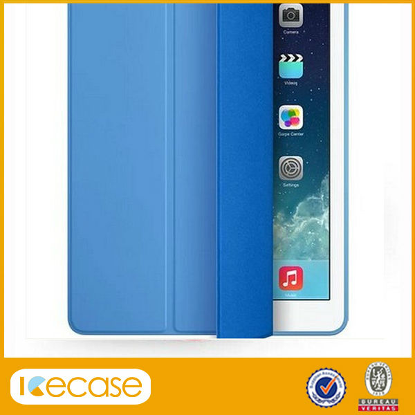 For ipad mini smart cover original, high quality Foldable stand leather cases smart cover for ipad mini