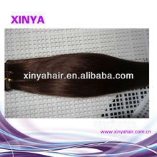 Wholesale free pack Virgin Remy bohemian hair weave straight hair extension