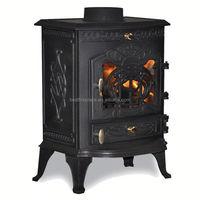 Antique 6kw cast iron stove