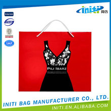 Made in china low price hot sale underwear paper packaging bag