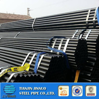 schedule 40 black steel pipe/iron tube china manufacture