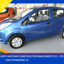 low price battery electric car / electrical car 4 seater / electric cars with storage battery 72V/14AH