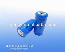 Batería de litio de la batería 3.7V 1300mAh LIR123A