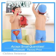 Boys blue SUPERMAN swimming trunks