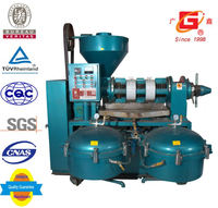 small scale processing oil line cold and hot press camellia seed oil pressing equipment oil extraction machine.