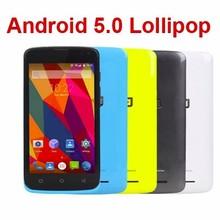 Elephone G2 4G FDD LTE MTK6732M Quad Core Android 5.0 Lollipop 4.5inc 854X480 1GB+8GB ROM 8.0MP Dual Sim Smart Mobile