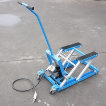 Motorcycle/ATV/Scooter Pneumatic Lift Table Motorbike Jack 1500lb CE