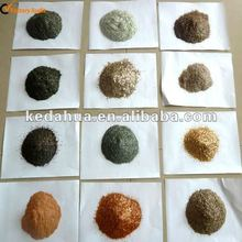 Colour mica for decoration