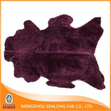 Wine red dyed colorful sale skin