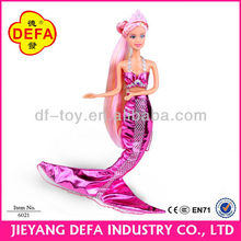 Famous doll manufacturer Walmart Toysrus supplier baby products mermaid doll