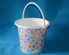 10L mop bucket with printing