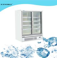 supermarket used glass door display freezers
