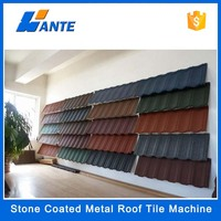 Trade Assurance colour sand coated aluminum roofing tile,sand coated metal roof tile