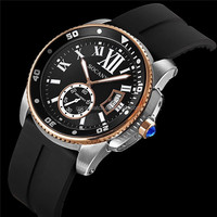 Alibaba in spanish express new design international brand quartz wrist watch with oem ,new man watch