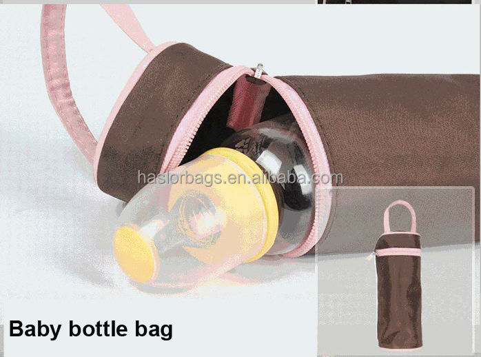 Best Diaper Bag Mommy Tote Bag with Baby Bottle Warmer Bag