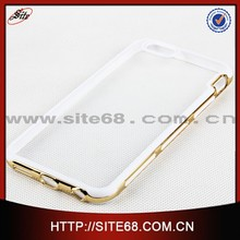 2015 cell phone cases Hard crystal PC china clear case for apple 6 4.7 inch with diamond for iPhone 6 covers