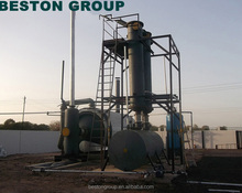 tyre oil extraction and continuous waste tire recycling machine with CE I SO