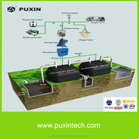China PUXIN 4m3 anaerobic digester